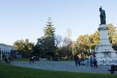 Lisbon, Portugalia: Campo Santana lub MÃ ¡ rtires da PÃ ¡ trio Obrazy Royalty Free