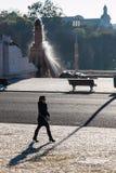 LISBON PORTUGALIA, Luty, - 02, 2011: Park's dają imię był Fotografia Stock