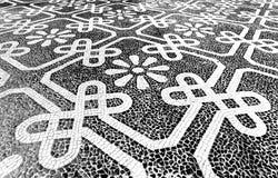 Lisbon Portuguese Pavement Stock Images