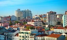 Lisbon real estate, Portugal Stock Images