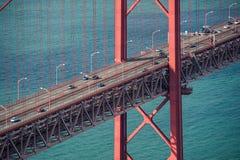 Lisbon red bridge Stock Image