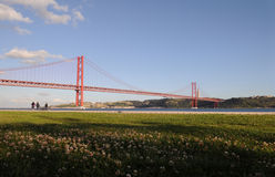 Lisbon Red Bridge Waterfront, Running On Seafront, Physical Activity