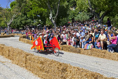 Lisbon Red Bull Soapbox Race Royalty Free Stock Photography