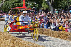 Lisbon Red Bull Soapbox Race Royalty Free Stock Image