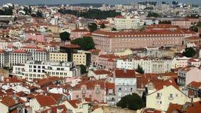 Lisbon roofs Stock Image