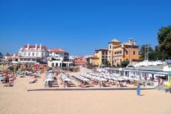 Lisbon Riviera. Cascais. Travel in Portugal. Stock Photography