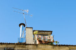 Lisbon roof Royalty Free Stock Image