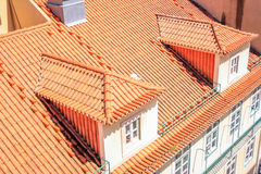 Lisbon Roof Tops. Lisbon Panoramic View from Downtown, Portugal Stock Photos