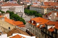 Lisbon roofs Stock Photos