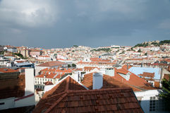 Lisbon rooftops Royalty Free Stock Images