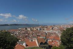 Lisbon Rooftops Stock Photo