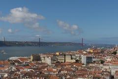 Lisbon Rooftops Stock Photography