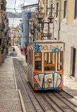 Lisbon's Gloria funicular Royalty Free Stock Image