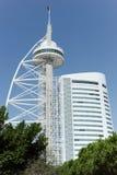 Lisbon`s tallest building - Vasco da Gama tower Stock Photography