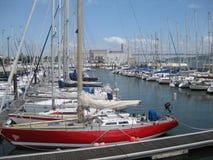lisbon-sailboats Royalty Free Stock Photography