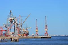 Lisbon shipyard, Portugal Stock Image