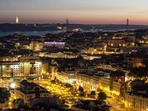 Lisbon Skyline Stock Photography