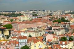 Lisbon Skyline, Lisbon, Portugal Stock Image