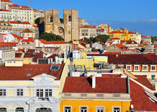Lisbon skyline Royalty Free Stock Image