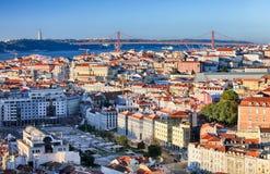 Lisbon skyline, Portugal Royalty Free Stock Image