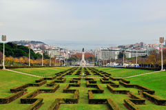 Lisbon skyline Royalty Free Stock Images