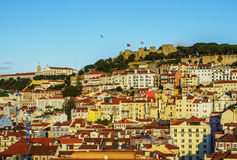 Lisbon Skyline Royalty Free Stock Photo