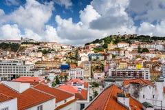 Lisbon Skyline Stock Photo