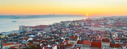Lisbon skyline. Portugal Stock Photos
