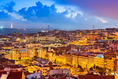 Lisbon Skyline Stock Photos