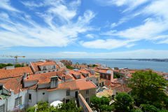 Lisbon Skyline and Tejo River, Lisbon, Portugal Stock Photos