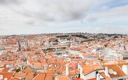 Lisbon Skyline Royalty Free Stock Photography