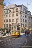 Lisbon spårvagn Royaltyfria Bilder