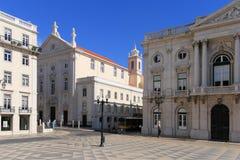 Lisbon sqare. Stock Photography