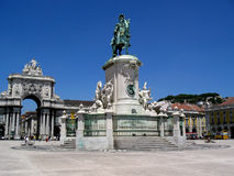 Lisbon square Royalty Free Stock Images