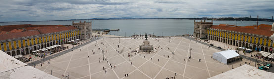Lisbon Square Trade royalty free stock images
