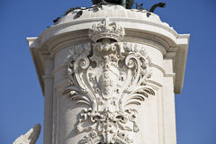 Lisbon Statue of King Dom Jose Royalty Free Stock Photo
