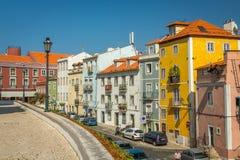 Lisbon Street. In Alfama, Portugal Royalty Free Stock Image