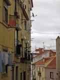 Lisbon street. Detail of the Lisbon street Royalty Free Stock Photography