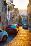 Lisbon street, Portugal Royalty Free Stock Images