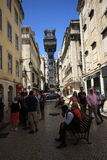 Lisbon Street Stock Images
