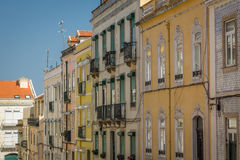 Lisbon Street View. In Portugal Stock Photography