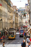 Lisbon streets Stock Images