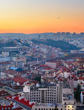 Lisbon at sunset, Portugal Royalty Free Stock Photo