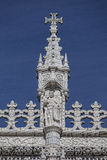 Lisbon - szczegółu Jeronimos monaster Obraz Stock