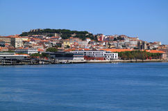 Lisbon Tagus or Tejo Panoramic view Stock Photography