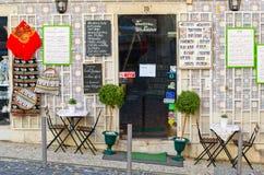 Lisbon tavern Stock Image