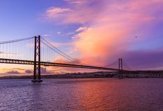 Lisbon and 25th of April Bridge - Portugal. Architecture background Royalty Free Stock Photos