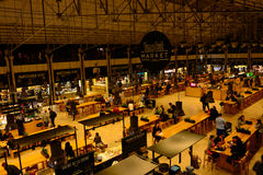 Lisbon Time Out Market, Lunch, Brunch and Dinner Modern Place royalty free stock photo