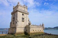 Lisbon Torre de Belem Royalty Free Stock Image