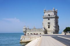 Lisbon Torre de Belem Royalty Free Stock Images